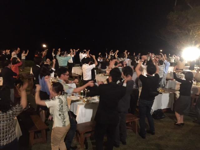 琉球踊りで終了